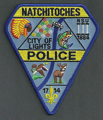 Natchitoches Louisiana Police Patch Unique!