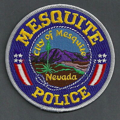 Mesquite Nevada Police Patch