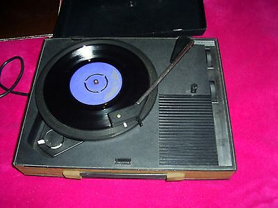 VINTAGE C1970's FIDELITY HF42 RECORD PLAYER ALL WORKING GREAT .COLLECTION ONLY