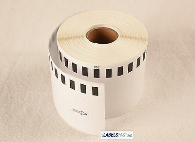 12 Rolls 62mm CONTINUOUS Compatible for Brother 2205 Labels QL-700 QL-500 650TD