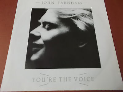"""John Farnham: You're The Voice: 7"""" Vinyl Single Made In West Germany: 1986: Rca"""
