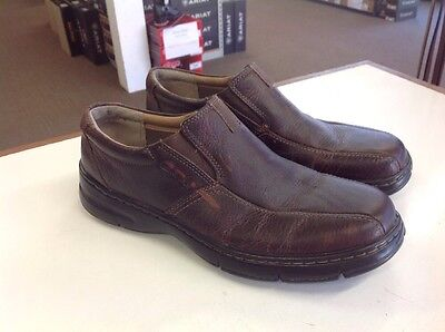Clarks Men's Leather Loafers Size 9.5M