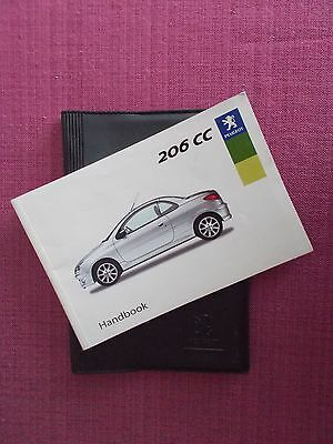 Peugeot 206 Cc Coupe/cabriolet Handbook - Owners Manual  - User Guide (Pe 978)