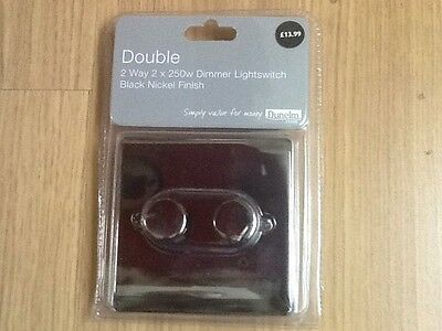Double Dimmer Light Switch 2 Way