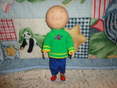 Caillou Rubber Doll 12 inch 1999 Irwin Toy Cinar