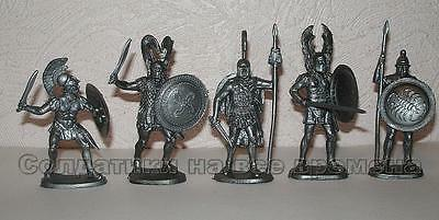 NEW !!! Ancient Greeks plastic 1/32 60mm toy soldiers