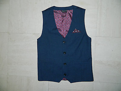 Boys Next waistcoat age 10 years VGC ideal for wedding, baptism, party