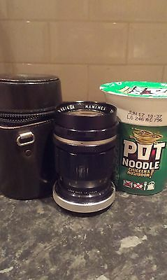 HANIMEX 1:2.8    f = 135mm  TELEPHOTO LENS IN MINT CONDITION