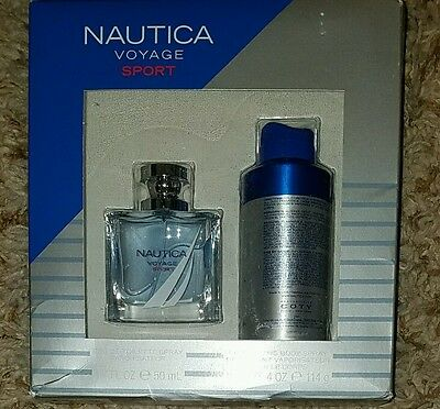 Nautica Voyage Sport Menu0027s Fragrance Gift Set 2 pc Sealed New in Box & NAUTICA VOYAGE SPORT Menu0027s Fragrance Gift Set 2 pc Sealed New in Box ...