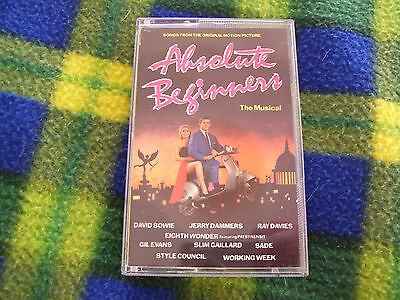 Absolute Beginners - The Musical. Cassette Tape. Features David Bowie. 1986.