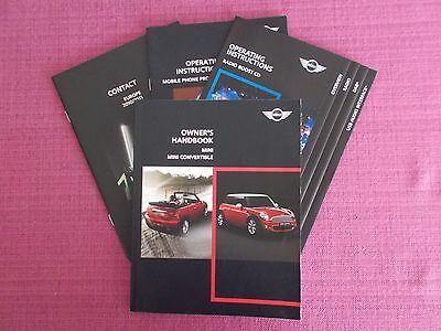 Bmw Mini Hatchback & Convertible (2010 - 2013) Owners Manual - Handbook.yjl 1201