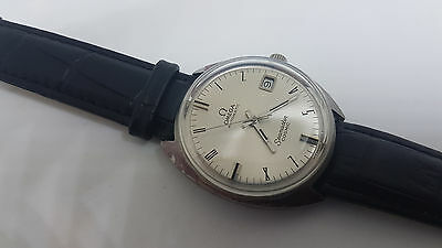 Nos Vintage Omega Seamaster Cosmic Silver Dial Date Automatic Man's Watch