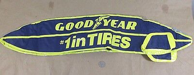 Goodyear Blimp Blow Up Inflatable Advertising Display #1 in Tires New Old Stock