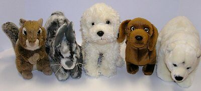 Webkinz Signature Lot Labradoodle English Spot Bunny Polar Bear Chipmunk Dachshu