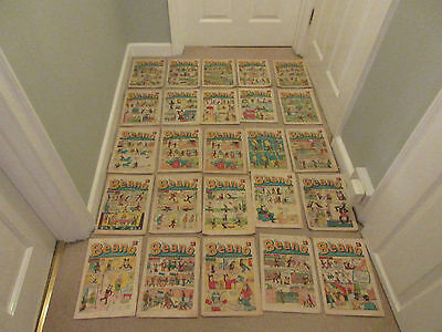 BEANO COMICS X 20 FROM 1969-Silver Age