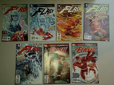The Flash #6-12 (2011) Dc Comics - The New 52!