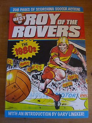 ROY OF THE ROVERS BOOK. THE BEST OF THE 80s. FOOTBALL BOOK