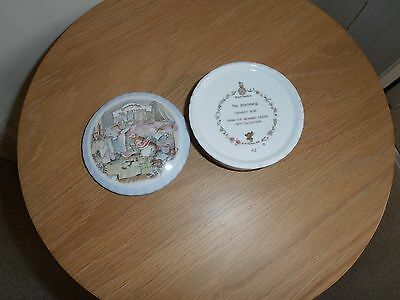 Royal Doulton Brambly Hedge The Birthday Trinket Pot 1987 very good condition