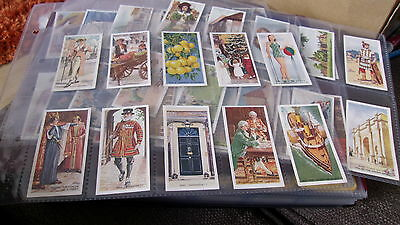CARRERAS - DO YOU KNOW? full set of 50 CIGARETTE CARDS IN PLASTIC SLEEVES - 1939