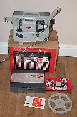 Eumig Mark M - Vintage 8mm Film Projector - Complete/Box/Manual - vgc