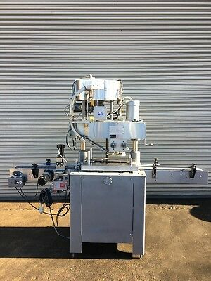 Kaps All 4 Quill Inline Bottle Capper, Bottle Capping Machine