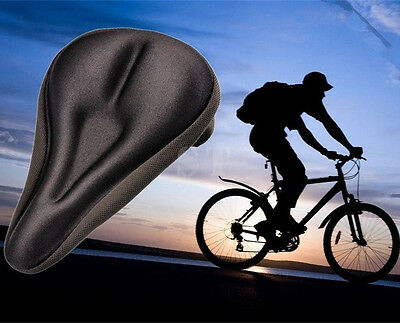 Cycling Bike Thick Soft Pad Bicycle Saddle Case Silica Gel Cushion Seat Cover