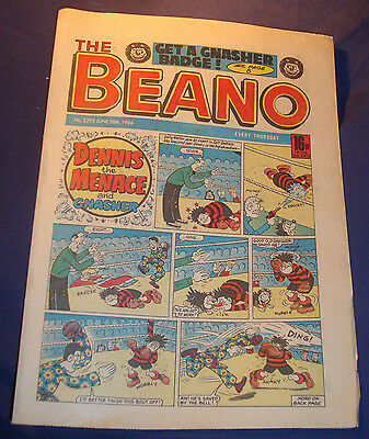 Beano Comic Issue no.2293 from 28/6/1986