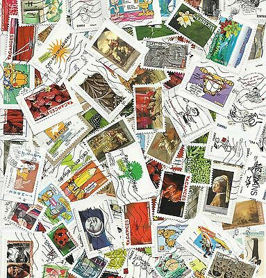 FRANCE Années 2008-2010 / 100 TIMBRES DIFFERENTS