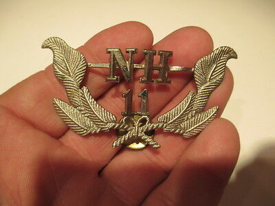 Vintage New Hampshire Hat Badge -Police Or Fire