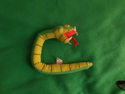 Green soft snake, McDonals toy 2000, approx 38cm long