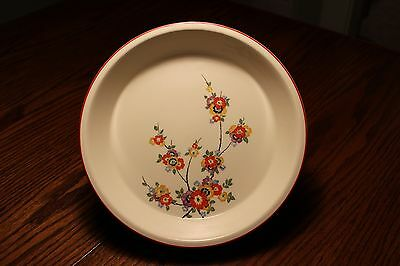Rare Vintage  Edwin Knowles Utility Ware Pie Plate