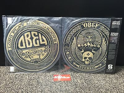 "NEW Shepard Fairey LP OBEY GIANT vinyl SERATO limited 12"" artist double record"