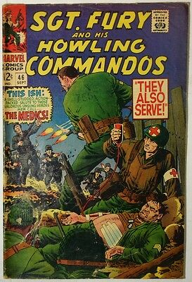 SGT. FURY and His Howling Commandos #46 - 1967 - VG