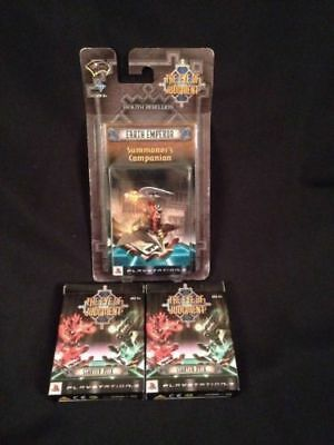 The Eye Of Judgement PS3 - Starter x2 Decks + Summoner's Earth Emperor Deck (G23
