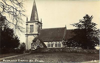 Woodlands Church near FROME, Somerset RP by Bell