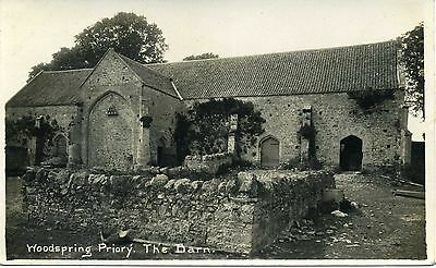 WOODSPRING Priory. The Barn, Somerset RP by Viner