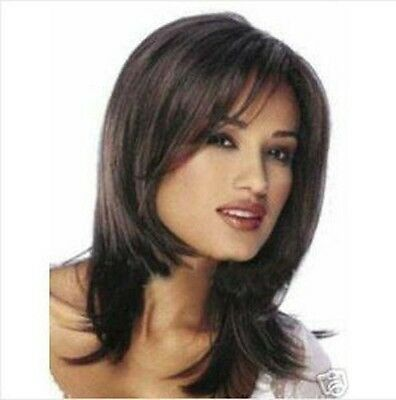 WJIA99125  pretty medium brown women's cosplay hair  wig wigs for women
