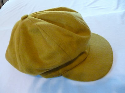 HOUSE OF SCOTLAND 100% Cashmere Cabbie Newsboy Cap Hat ONE SIZE FITS - ENGLAND