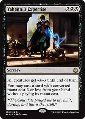 Magic The Gathering Aether Revolt Yahenni's Expertise x4 - Preorder