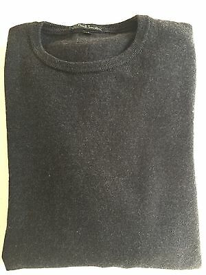 Paul Smith Charcoal Grey Merino Wool Jumper M