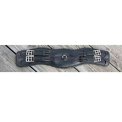 """NEW!!! KL Select Red Barn 24"""" Contoured Dressage Girth"""