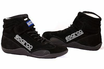 Sparco 00127010N Race Black Size 10 Driving Shoe New