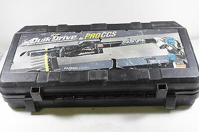 QuickDrive PRO300AK-QDDECKCLIP Combo w/ Adapters and drill motor