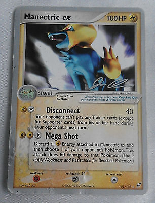 Manectric EX 101/107 Ultra Rare Non-Holo EX Deoxys World Championships Card