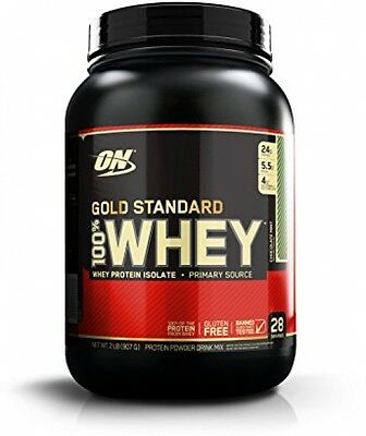 Optimum Nutrition Gold Standard 100% Whey Protein Isolate 908g Chocolate Mint