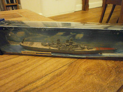 HORNBY MINIC SHIPS 1:1200 SCALE DIECAST M743 USS Missouri