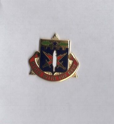 US Army 46th Adjutant General Battalion DUI crest pin badge G-23