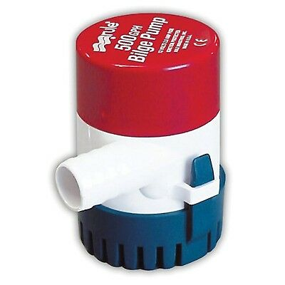 Rule Submersible Bilge Pump 500 GPH
