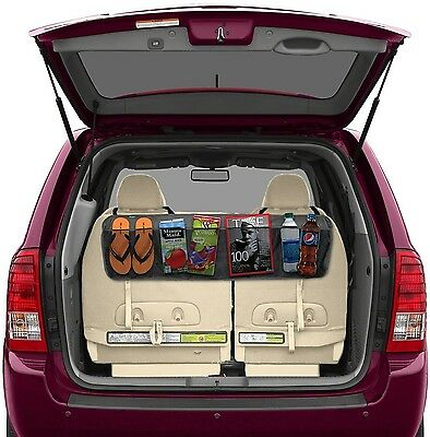 BackSeat/Trunk Organizer By Lebogner - 5 Pocket Auto Interior Perfect Car Org...