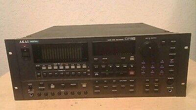 AKAI DR-16 Digital Hard Disk Recorder **Updated**